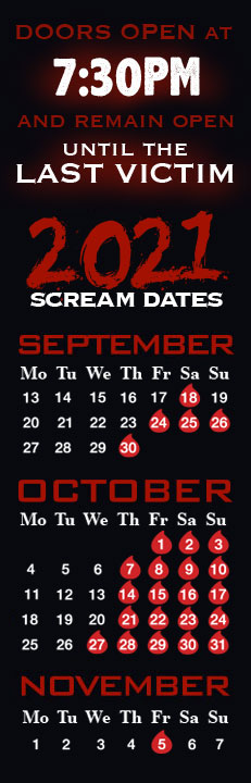 [SCREAM DATES]